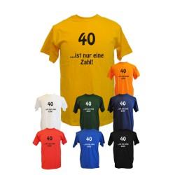 40 ist nur eine Zahl