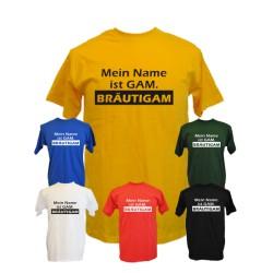 Mein Name ist GAM BRAEUTIGAM