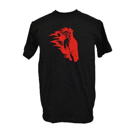 Flammen Pferd 7